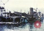 Image of Destroyed ferry boats Messina Sicily Italy, 1943, second 12 stock footage video 65675060645