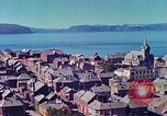 Image of port town Europe, 1940, second 7 stock footage video 65675060667