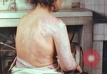 Image of effects of position on atomic bomb victim Hiroshima Japan, 1946, second 3 stock footage video 65675060697