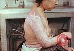 Image of effects of position on atomic bomb victim Hiroshima Japan, 1946, second 9 stock footage video 65675060697