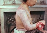 Image of effects of position on atomic bomb victim Hiroshima Japan, 1946, second 10 stock footage video 65675060697