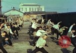 Image of railroad workers Hiroshima Japan, 1946, second 7 stock footage video 65675060718