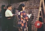 Image of Japanese typesetters Hiroshima Japan, 1946, second 7 stock footage video 65675060725