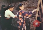 Image of Japanese typesetters Hiroshima Japan, 1946, second 8 stock footage video 65675060725
