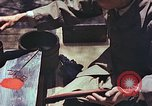 Image of Japanese artist Kyoto Japan, 1946, second 8 stock footage video 65675060727