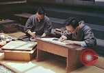 Image of Japanese artists Kyoto Japan, 1946, second 3 stock footage video 65675060729