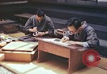 Image of Japanese artists Kyoto Japan, 1946, second 11 stock footage video 65675060729