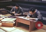 Image of Japanese artists Kyoto Japan, 1946, second 12 stock footage video 65675060729