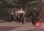 Image of Japanese archers Japan, 1946, second 5 stock footage video 65675060736