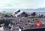 Image of Higashi Honganji Buddhist Temple Kyoto Japan, 1946, second 1 stock footage video 65675060763