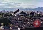 Image of Higashi Honganji Buddhist Temple Kyoto Japan, 1946, second 2 stock footage video 65675060763