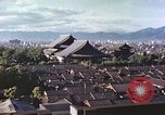 Image of Higashi Honganji Buddhist Temple Kyoto Japan, 1946, second 7 stock footage video 65675060763