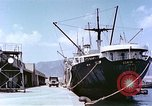 Image of American freighter Kobe Japan, 1946, second 2 stock footage video 65675060783