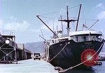 Image of American freighter Kobe Japan, 1946, second 6 stock footage video 65675060783