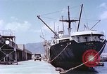 Image of American freighter Kobe Japan, 1946, second 9 stock footage video 65675060783