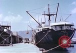 Image of American freighter Kobe Japan, 1946, second 11 stock footage video 65675060783