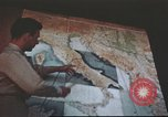 Image of 376th Bombardment Group briefing North Africa, 1943, second 9 stock footage video 65675060793