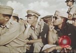 Image of 376th Bombardment Group briefing North Africa, 1943, second 12 stock footage video 65675060793