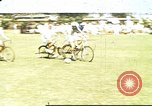 Image of Teams compete for fun in bicycle polo at Fort Stotsenburg Philippines, 1941, second 1 stock footage video 65675060828