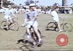 Image of Teams compete for fun in bicycle polo at Fort Stotsenburg Philippines, 1941, second 3 stock footage video 65675060828