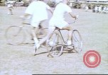 Image of Teams compete for fun in bicycle polo at Fort Stotsenburg Philippines, 1941, second 4 stock footage video 65675060828