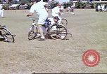 Image of Teams compete for fun in bicycle polo at Fort Stotsenburg Philippines, 1941, second 10 stock footage video 65675060828