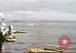 Image of Pan American California Clipper flying boat lands and docks Philippines, 1941, second 3 stock footage video 65675060830