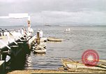 Image of Pan American California Clipper flying boat lands and docks Philippines, 1941, second 6 stock footage video 65675060830