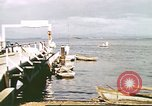 Image of Pan American California Clipper flying boat lands and docks Philippines, 1941, second 8 stock footage video 65675060830