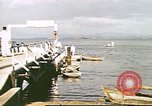 Image of Pan American California Clipper flying boat lands and docks Philippines, 1941, second 9 stock footage video 65675060830