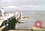 Image of Pan American California Clipper flying boat lands and docks Philippines, 1941, second 10 stock footage video 65675060830
