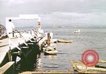 Image of Pan American California Clipper flying boat lands and docks Philippines, 1941, second 11 stock footage video 65675060830