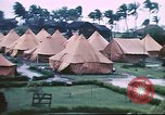 Image of U.S. Army bivouac deluged by rain in the Philippines Philippines, 1941, second 2 stock footage video 65675060835