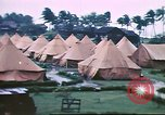 Image of U.S. Army bivouac deluged by rain in the Philippines Philippines, 1941, second 3 stock footage video 65675060835
