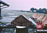Image of U.S. Army bivouac deluged by rain in the Philippines Philippines, 1941, second 10 stock footage video 65675060835