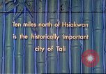 Image of Chinese people Tali China, 1941, second 1 stock footage video 65675060840