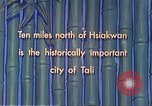 Image of Chinese people Tali China, 1941, second 3 stock footage video 65675060840