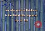 Image of Chinese people Tali China, 1941, second 8 stock footage video 65675060840