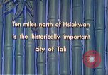 Image of Chinese people Tali China, 1941, second 9 stock footage video 65675060840