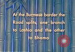 Image of Burmese laborers Lashio Burma, 1941, second 3 stock footage video 65675060848