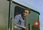 Image of New locomotive in Swiss factory Europe, 1952, second 8 stock footage video 65675060865