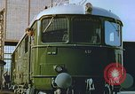 Image of New locomotive in Swiss factory Europe, 1952, second 9 stock footage video 65675060865