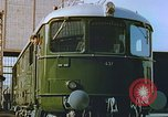 Image of New locomotive in Swiss factory Europe, 1952, second 10 stock footage video 65675060865