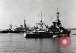 Image of battleships Scotland, 1918, second 2 stock footage video 65675060921