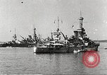 Image of battleships Scotland, 1918, second 3 stock footage video 65675060921