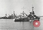 Image of battleships Scotland, 1918, second 4 stock footage video 65675060921