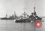Image of battleships Scotland, 1918, second 6 stock footage video 65675060921