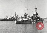 Image of battleships Scotland, 1918, second 7 stock footage video 65675060921