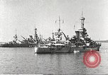 Image of battleships Scotland, 1918, second 8 stock footage video 65675060921