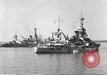Image of battleships Scotland, 1918, second 9 stock footage video 65675060921